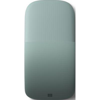 image Microsoft – Souris Arc – souris Bluetooth pour PC, ordinateurs portables compatible Windows, Mac, Chrome OS (fine, légère, transportable, tactile) – Vert Sauge (ELG-00041)