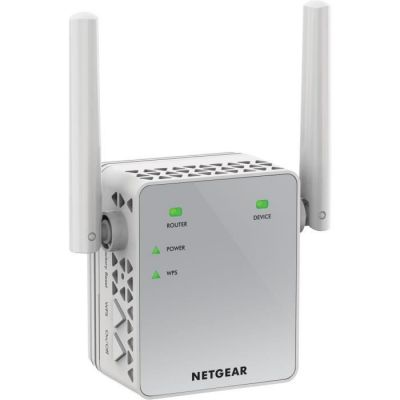 image NETGEAR Répéteur WiFi (EX3700), Amplificateur WiFi AC750, WiFi Booster, Supprimez les Zones mortes, jusqu'à 90m² et 15 appareils, repeteur WiFi puissant Boost le Signal jusqu'à 750 Mbps, compact