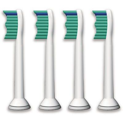 image Philips Sonicare HX6014/07 Pack Têtes de brosse ProResults Standard (X4)