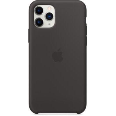 image Apple Coque en Silicone (pour iPhone 11 Pro) - Noir