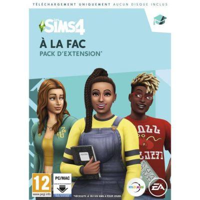 image Les Sims 4: A la Fac pour PC