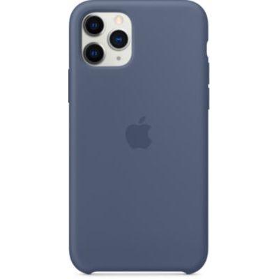 image Apple Coque en Silicone (pour iPhone 11 Pro) - Bleu d'Alaska