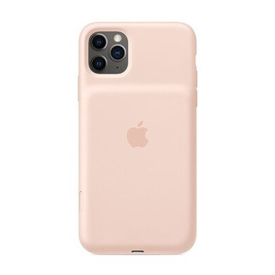 image Apple Smart Battery Case avec charge sans fil (pour iPhone 11 Pro Max) - Rose des sables