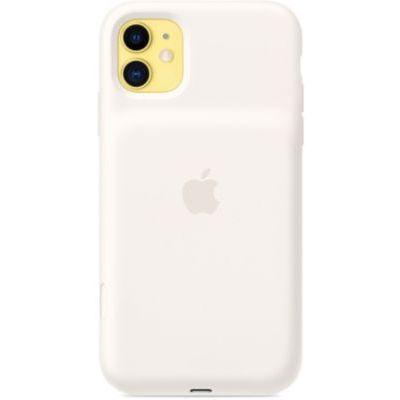 image Apple Smart Battery Case avec charge sans fil (pour iPhone 11) - Blanc