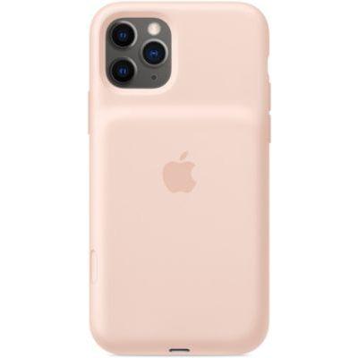 image Apple Smart Battery Case avec charge sans fil (pour iPhone 11 Pro) - Rose des sables