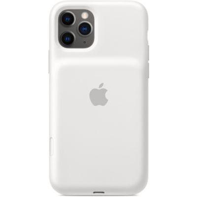 image Apple Smart Battery Case avec charge sans fil (pour iPhone 11 Pro) - Blanc