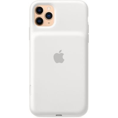 image Apple Smart Battery Case avec charge sans fil (pour iPhone 11 Pro Max) - Blanc