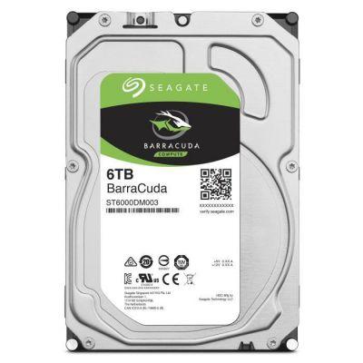 image SEAGATE - Disque dur Interne HDD - BarraCuda - 6To - 5 400 tr/min - 3.5- (ST6000DM003)