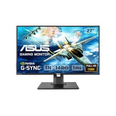 "image ASUS VG278Q - Ecran PC gaming eSport 27"" FHD - Dalle TN - 16:9 - 144Hz - 1ms - 1920x1080 - 400cd/m² - Display Port, HDMI et DVI - Haut-parleurs - Nvidia G-Sync - AMD FreeSync"