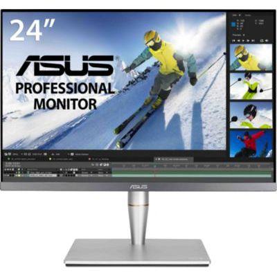 "image ASUS ProArt PA24AC - Ecran PC 24,1"" WUXGA - Dalle IPS - 1920x1200 - 400cd/m² - Display Port, 2x HDMI, 3x USB 3.0 & 1x USB-C Thunderbolt 3 - 100% sRGB - △E< 2 - DisplayHDR 400 - Garantie 5 ans"