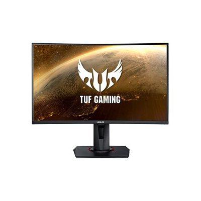 "image ASUS TUF Gaming VG27VQ - Ecran PC Gamer eSport 27"" FHD - Dalle VA incurvée - 16:9 - 165Hz - 1ms - 1980x1080 - Display Port, HDMI et DVI - Haut-parleurs - AMD FreeSync - Extreme Low Motion Blur"