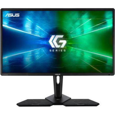 """image ASUS CG32UQ - Ecran PC 32"""" 4K gaming pour console - Dalle VA- 3840x2160 - 600cd/m² - 3x HDMI, Display Port et 6x USB - HDR - Haut-parleurs 2x 12W - AMD FreeSync - Xbox - PS4 - Télécommande incluse"""