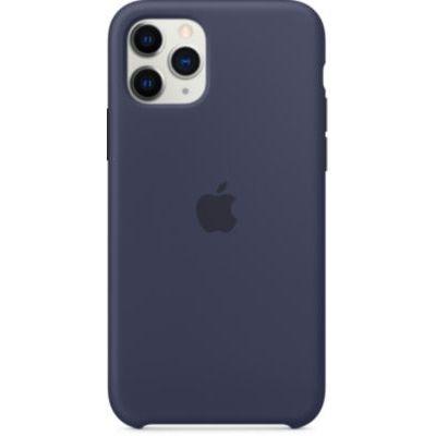 image Apple Coque en Silicone (pour iPhone 11 Pro) - Bleu Nuit
