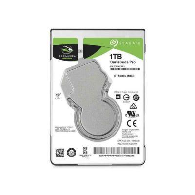 image Seagate BarraCuda Pro 1 To, Disque dur interne hautes performances HDD – 2,5 pouces SATA 6 Gbit/s 7 200 tr/min, 128 Mo de mémoire cache, pour PC, services de récupération des données (ST1000LM049)