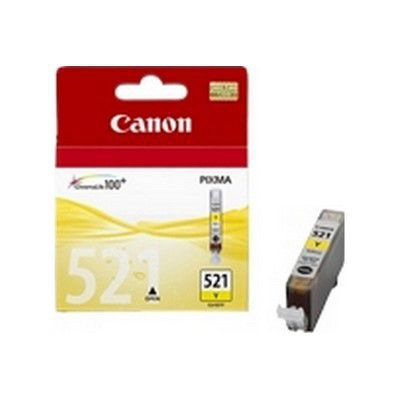 image Cartouche d'encre Canon CLI-521 jaune