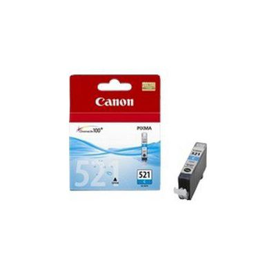 image Canon CLI-521 Cartouche C Cyan (Pack plastique sécurisé)