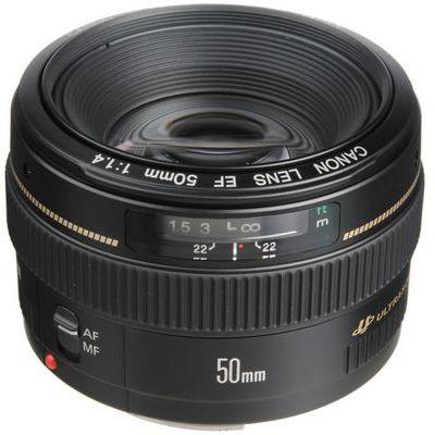 image Canon Objectif EF-50mm F/1,4 USM