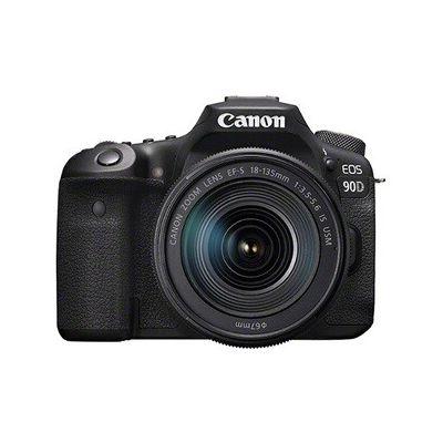 image Appareil photo Reflex Canon EOS 90D, Objectif EF-S 18-135 IS USM