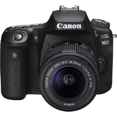 image Canon EOS 90D - Kit boîtier avec objectif EF-S 18-55 mm f / 3,5-5,6 IS USM