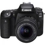 image produit Canon EOS 90D - Kit boîtier avec objectif EF-S 18-55 mm f / 3,5-5,6 IS USM - livrable en France