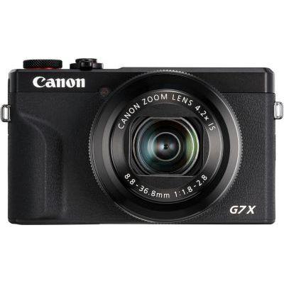 image Canon Powershot G7 X Mark III Appareil Photo Numérique - Noir & 9839B001 Batterie pour Canon PowerShot G7X Gris