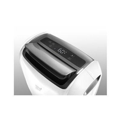 image De'Longhi DDSX220 AriaDry Déshumidificateur d'air pour maison, 436 W, 20 litres, 44 décibels, plastique, blanc