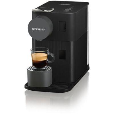 image Nespresso - Cafetière à dosettes Nespresso avec réservoir de lait compact Noire