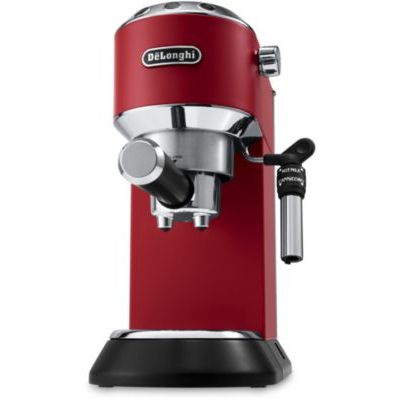 image DeLonghi Dedica Style EC 695.R - Cafetière combinée, 1 l, pour café moulu, 1450 W, rouge