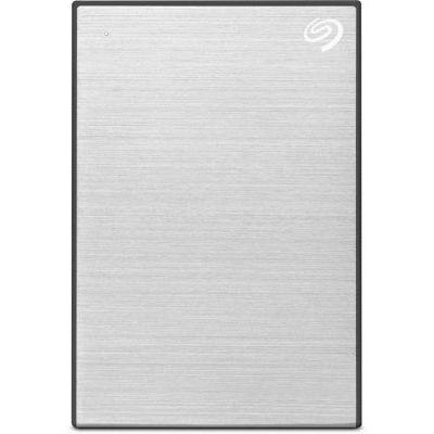 image Seagate Backup Plus 4 To, Disque Dur Externe Portable HDD – Argent, USB 3.0, pour PC portable et Mac, Abonnement de 4 mois à Adobe Creative Cloud, et services Rescue valables 2 ans (STHP4000401)