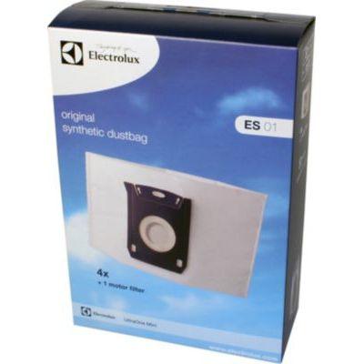 image Electrolux ES01 Accessoires Aspirateur 4 Sacs Synthétiques + 1 Filtre Moteur