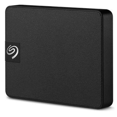 image Seagate Disque Dur externe SSD, Expansion SSD 500Go USB3.0, Noir, Abonnement de 4 mois à la formule Adobe Creative Cloud pour la photo, et services Rescue valables 3 ans (STJD500400)