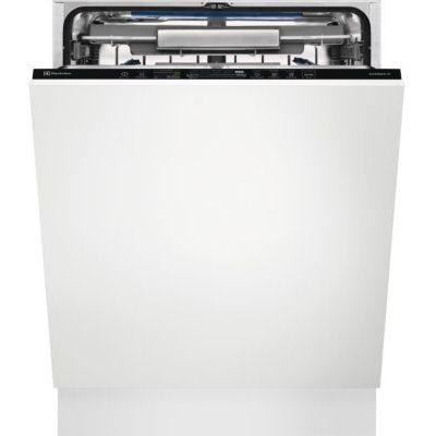 image Lave vaisselle encastrable 60 cm Electrolux EEC87300L - Lave vaisselle tout integrable - Tiroir à couvert - Classe énergétique A+++ / Affichage temps restant - Départ différé