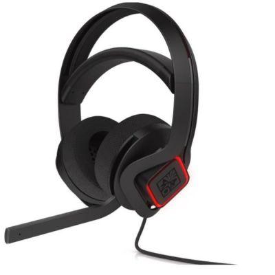 image HP OMEN Mindframe - Casque Gaming Filaire USB (Technologie de Refroidissement FrostCap, Son Surround 7.1, Microphone avec Réduction du Bruit Ambiant, Eclairage LED RVB) - Noir