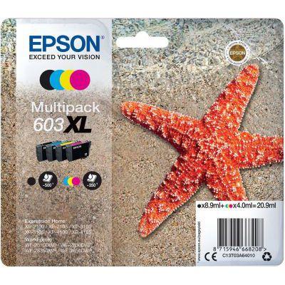 image EPSON cartouche d'encre  603XL 4CL Multipack ALA