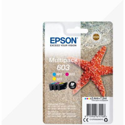 image Epson cartouche d'encre  603 3CL MULTI ALARME Noir L