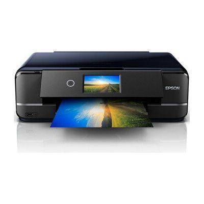 image Epson Expression Photo XP-970 Imprimante Multifonctions 3 en 1 (Scanner, photocopieur, WiFi, Ethernet, Recto-Verso 10,9 cm, Cartouches Individuelles, 6 Couleurs, DIN A3) Noir