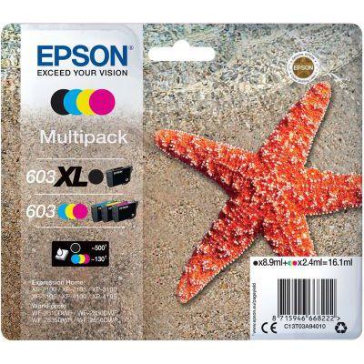 image Epson Multipack 4-Colours 603 XL Black/STD. CMY, C13T03A94020