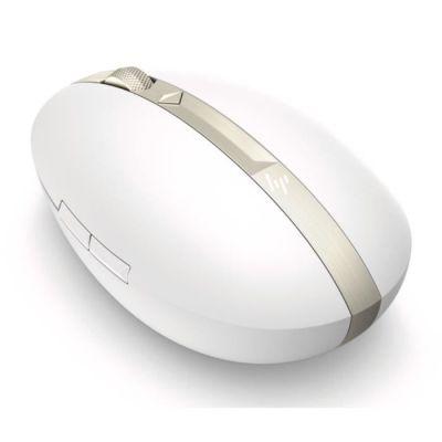 image HP Spectre 700 - Souris Rechargeable Sans Fil Blanc Céramique (USB et Bluetooth, 1200 DPI, Easy-Switch, Ambidextre)