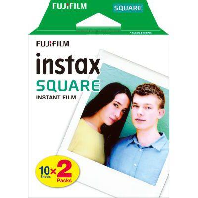 image Fujifilm FILM INSTAX SQUARE WW (10X2 PK) Kit de 2 Films 10 vues Blanc