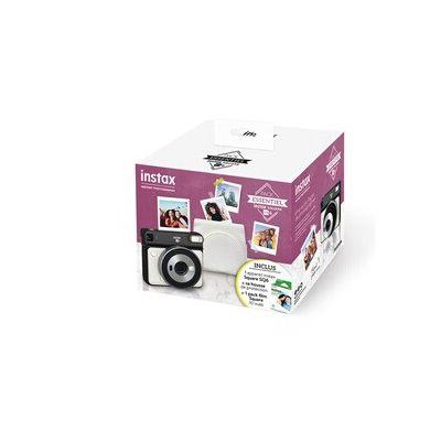 image Appareil photo instantané Fujifilm PACK ESSENTIEL INSTAX SQ6 BLANC