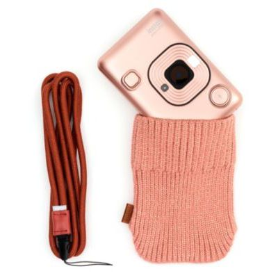 image Bundle INSTAX MNI LIPLAY Blush Gold