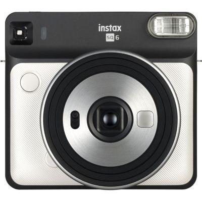 image Instax SQ6 blanc & Fujifilm Film pour Appareil Instax Square SQ10 Blanc