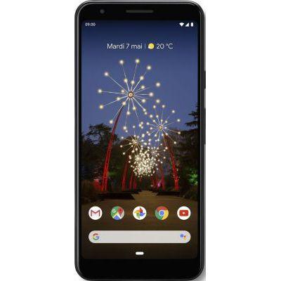 image Smartphone Google PIXEL 3A Simplement Noir 64Go