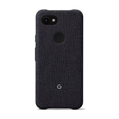 image Google Pixel Étui de Protection pour Pixel 3a avec Tissu sur Mesure et Bord Actif Compatible avec Google Pixel Coque Officielle en Carbone
