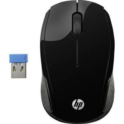 image HP 220 - Souris Sans Fil Noire (USB, 1600 DPI, Ambidextre)