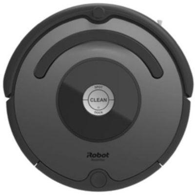 image Compatible iRobot Roomba - Robot aspirateur Irobot Roomba 676 Noir