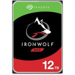 "image produit Disque dur Interne 3.5"" Seagate NAS IronWolf (ST12000VN0008) - 12 To, 7200 trs/min"