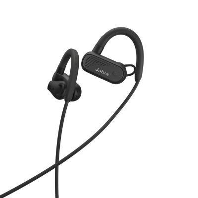 image Jabra Elite Active 45e – Casque de Sport Bluetooth sans Fil Waterproof pour les Appels et la Musique – Noir