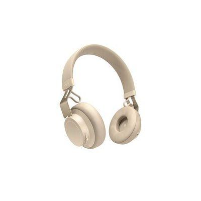 image Jabra Écouteurs Supra-auriculaires Move Style Edition – Se Connecte avec les Smartphones, Ordinateurs et Tablettes Bluetooth pour la Musique et les Appels sans Fil – Beige