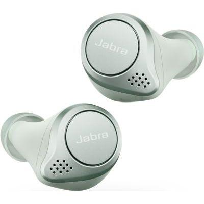 image Jabra Elite Active 75t Écouteurs sport sans fil avec réduction active du bruit et autonomie élevée de la batterie pour appels et musique – Menthe